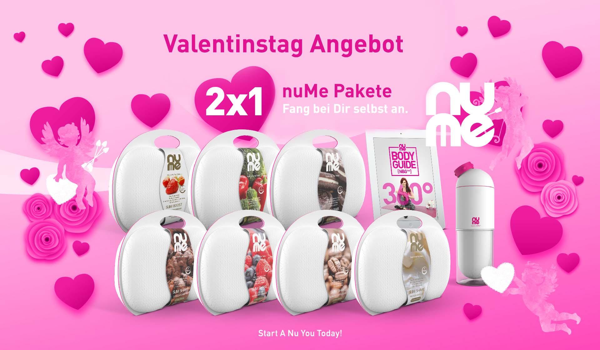 Valentinstag Angebot