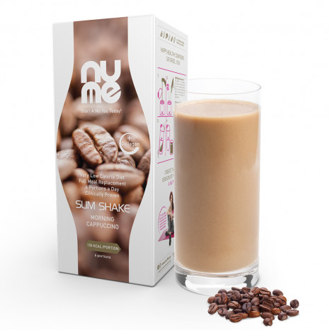 nuMe Slim Shake with Collagen Morning Cappuccino (6 portions)