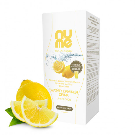 nuMe Water Drainer Drink Juicy Lemon