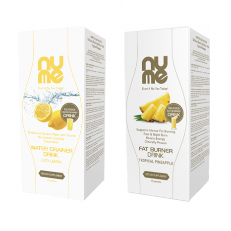 nuMe FAT & WATER OUT PACK