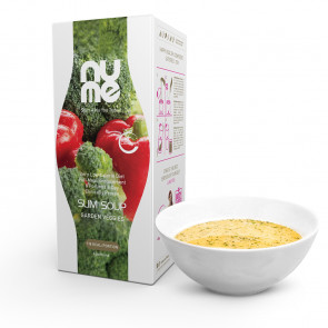 nuMe Slim Suppe mit Kollagen Gartengemüse (6 Portionen)