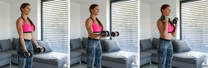 cviky na bicepsy