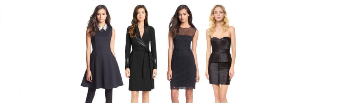 Hladáte čierne šaty