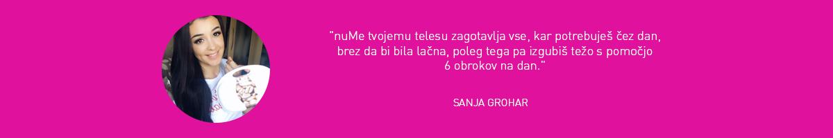 Sanja Grohar mnenje