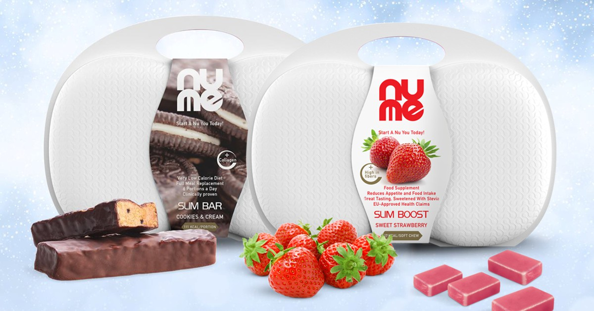 Vyhraj 2 kufríky nuMe produktov nízkokalorickej diéty