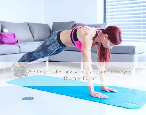cvičenie na brucho